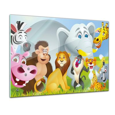 Memoboard - Kinder - Tiere Cartoon – Bild 1