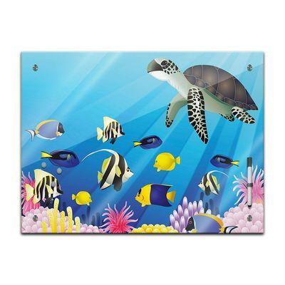 Memoboard - Kinder - Unterwasser Tiere II – Bild 2