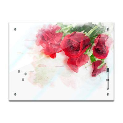 Memoboard - Pflanzen & Blumen - Rote Rosen – Bild 2