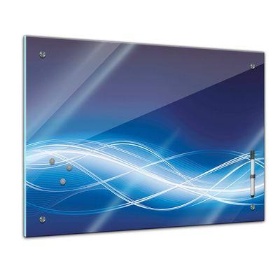 Memoboard - Textur & Hintergrund - Grafik blau – Bild 1