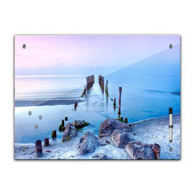 Memoboard - Landschaft - Alter Steg – Bild 2