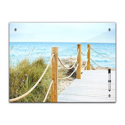 Memoboard - Landschaft - Schöner Weg zum Strand – Bild 2
