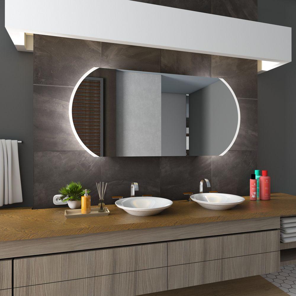 Berühmt Beleuchteter LED Badspiegel - Köln WK68