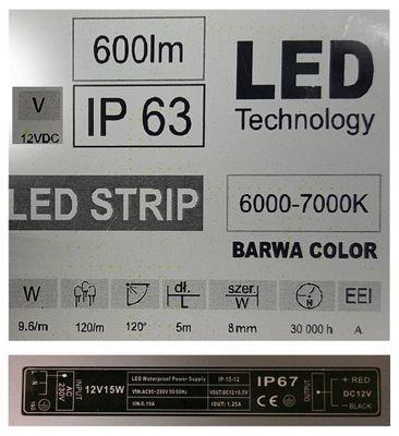 Beleuchteter LED Badspiegel - Wiesbaden – Bild 2