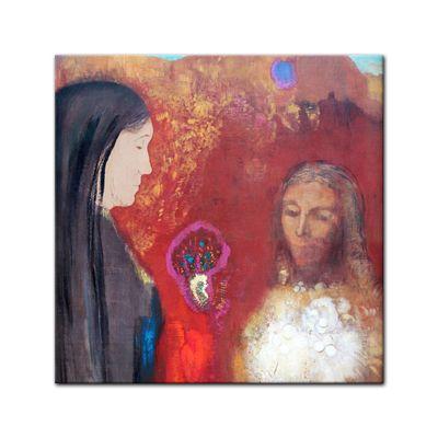 Odilon Redon - Christus und Samariterin – Bild 3