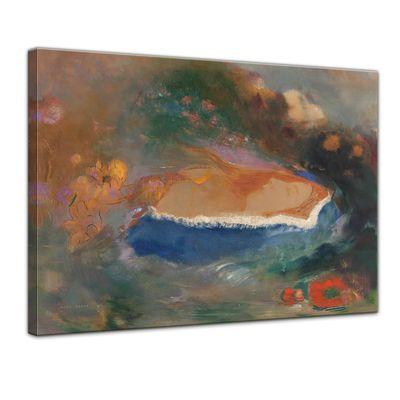 Odilon Redon - Das blaue Cap (Ophelia) – Bild 1