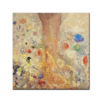 Kunstdruck - Alte Meister - Odilon Redon - The Buddha – Bild 3