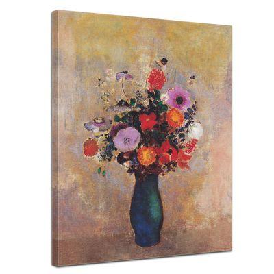 Odilon Redon - Wildblumen in grüner Vase – Bild 1
