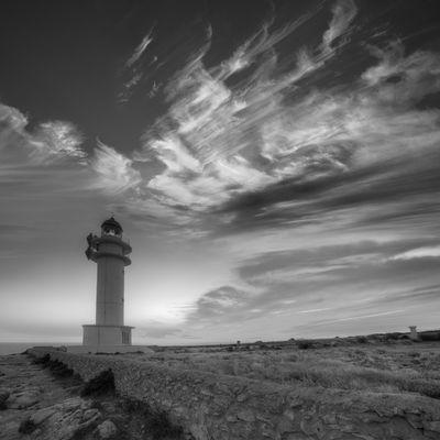 Fototapete - Leuchtturm auf Formentera – Bild 8