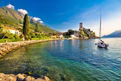 Fototapete - Malcesine am Gardasee – Bild 2