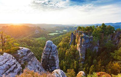 Fototapete - Elbsandsteingebirge - Sächsische Schweiz – Bild 2