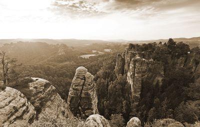 Fototapete - Elbsandsteingebirge - Sächsische Schweiz – Bild 6