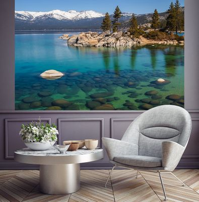 Fototapete - Lake Tahoe in den USA – Bild 1