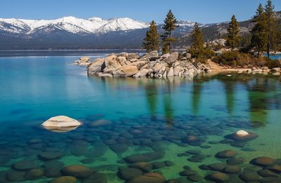Fototapete - Lake Tahoe in den USA – Bild 2