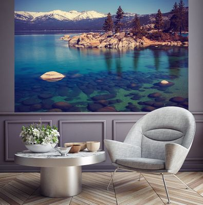 Fototapete - Lake Tahoe in den USA – Bild 3