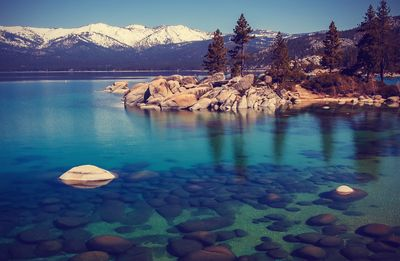 Fototapete - Lake Tahoe in den USA – Bild 4
