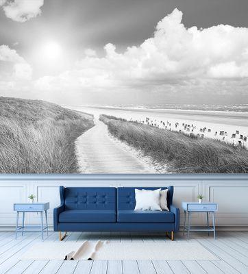 selbstklebende Fototapete - Nordsee Strand – Bild 7