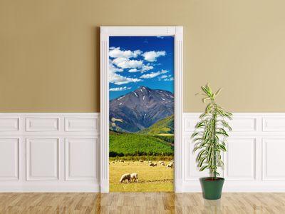 Türaufkleber - Berglandschaft - Neuseeland – Bild 1