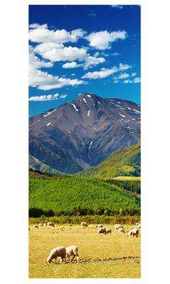 Türaufkleber - Berglandschaft - Neuseeland – Bild 3