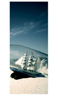 Türaufkleber - Buddelschiff – Bild 2