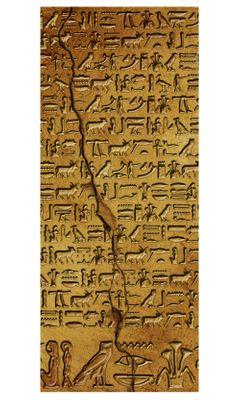 Türaufkleber - Hieroglyphen – Bild 3