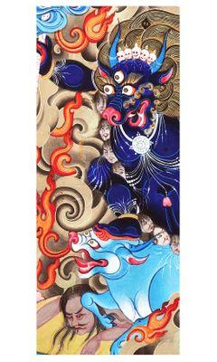 Türaufkleber - Indischer Gott Shiva – Bild 2