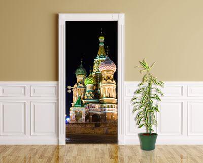 Türaufkleber - Basilius Kathedrale in Moskau – Bild 1