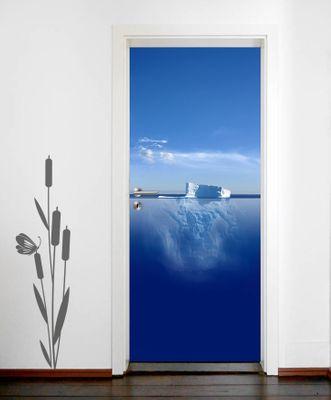 Türaufkleber - Eisberg - Meer – Bild 1