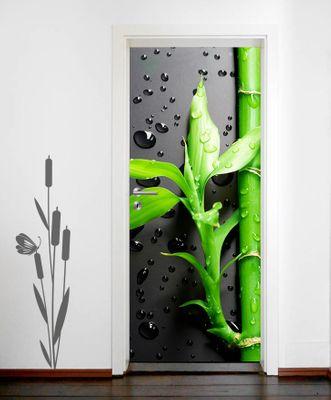 Türaufkleber - Frischer Bambus II – Bild 1