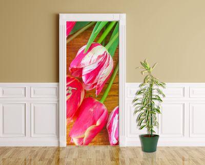 Türaufkleber - Tulpen – Bild 1