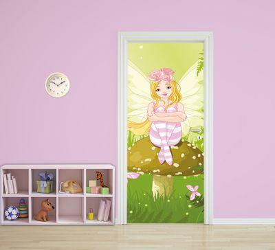 Türaufkleber - Kinderbild Elfe – Bild 1