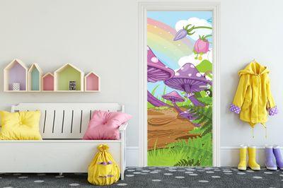 Türaufkleber - Kinderbild Märchenwald – Bild 1