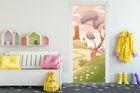 Türaufkleber - Kinderbild Phantasielandschaft