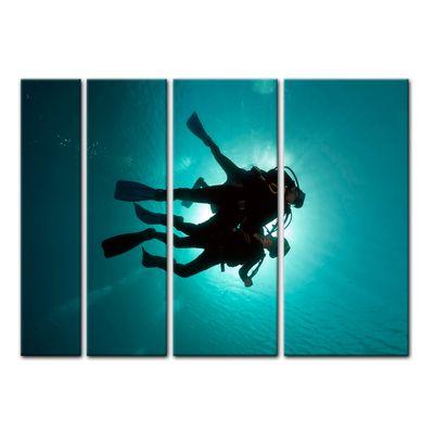 Leinwandbild - Taucher im Roten Meer – Bild 8
