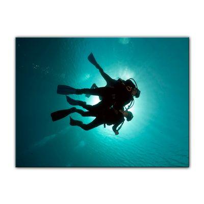 Leinwandbild - Taucher im Roten Meer – Bild 4
