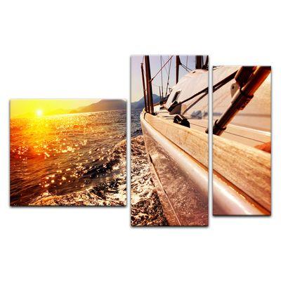 Leinwandbild - Yacht auf See III – Bild 12