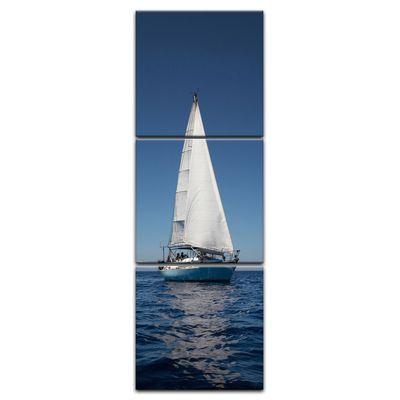 Leinwandbild - Yacht auf See IV – Bild 5