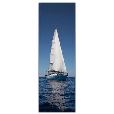 Leinwandbild - Yacht auf See IV – Bild 4