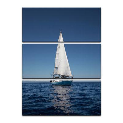 Leinwandbild - Yacht auf See IV – Bild 6