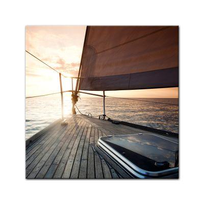 Leinwandbild - Yacht auf See V – Bild 2