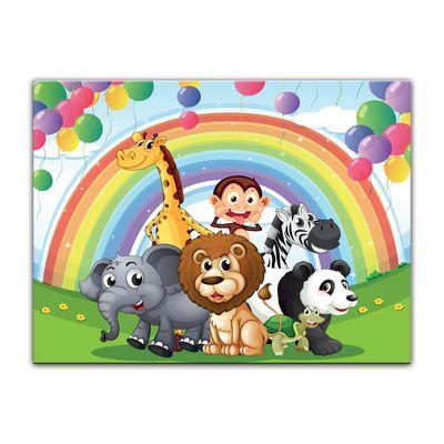 Kunstdruck - Kinderbild - Tierparade – Bild 3