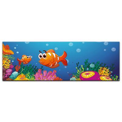 Kunstdruck - Kinderbild - Unter dem Meer Cartoon – Bild 7