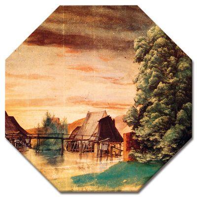 Kunstdruck - Alte Meister - Albrecht Dürer - Die Weidenmühle – Bild 8