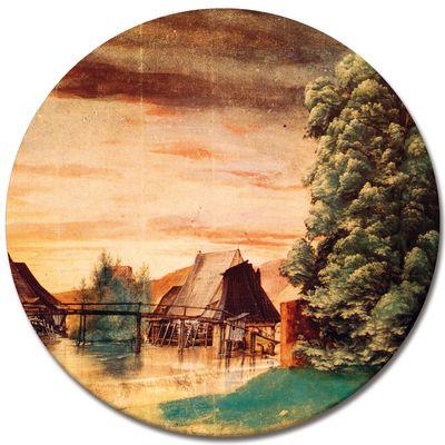 Kunstdruck - Alte Meister - Albrecht Dürer - Die Weidenmühle – Bild 6