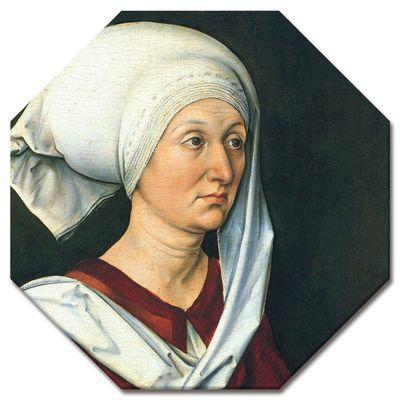 Kunstdruck - Alte Meister - Albrecht Dürer - Portrait - Barbara Dürer – Bild 5