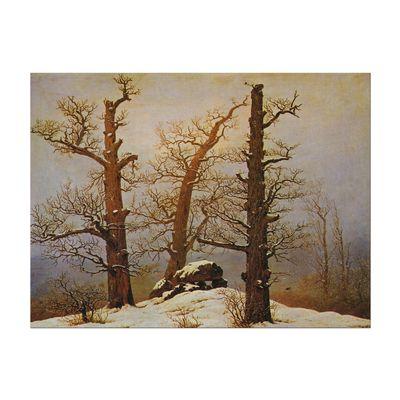 Caspar David Friedrich - Hünengrab im Schnee – Bild 2