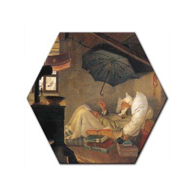 Carl Spitzweg - Der arme Poet – Bild 4