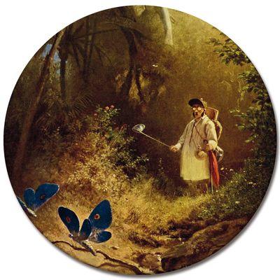 Carl Spitzweg - Der Schmetterlingsfänger – Bild 5