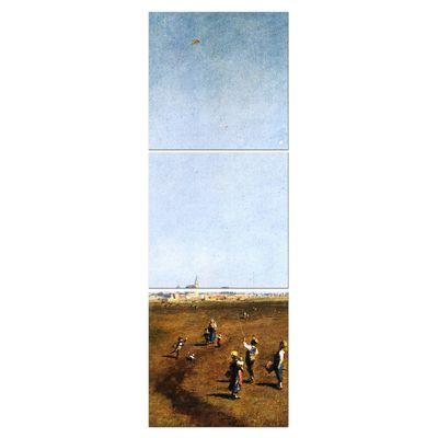 Carl Spitzweg - Drachensteigen – Bild 2