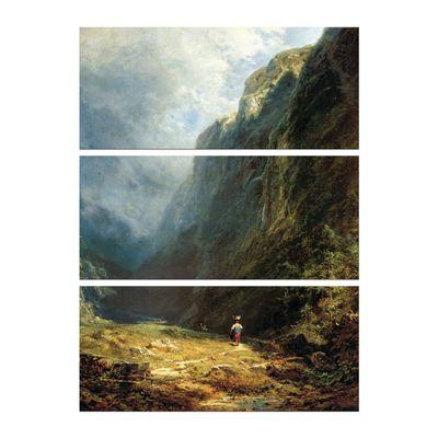 Carl Spitzweg - Mädchen auf der Alm – Bild 8